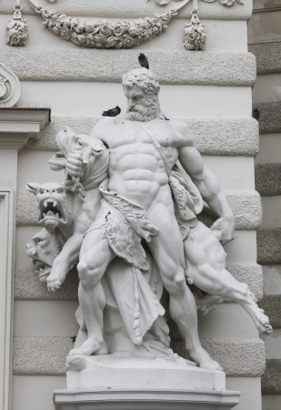Hercules and Cerberus, Hofburg, Vienna photo