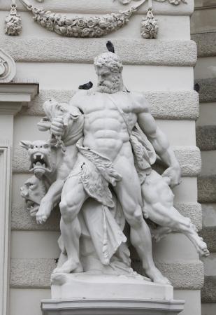 Hercules en Cerberus, Hofburg, Wenen
