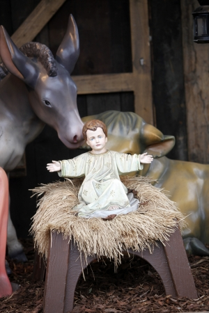Nativity Scene from Vienna square photo