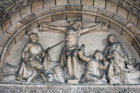 homily: Crucifixion, Basilique du Sacr� Coeur, Paris