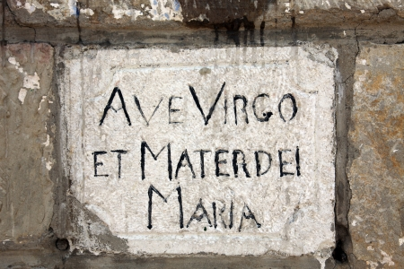 religiosity: Ave Virgo et Martedei Maria