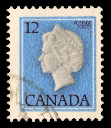 CANADA - CIRCA 1979: stamp printed by Canada, shows Queen Elizabeth II, circa 1979