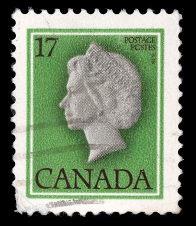 canada stamp: CANADA - CIRCA 1979: stamp printed by Canada, shows Queen Elizabeth II, circa 1979