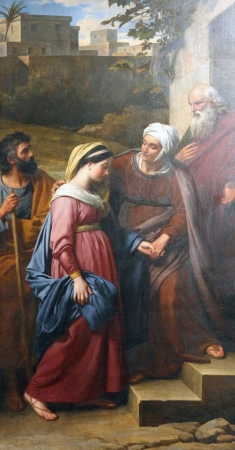 blessed virgin mary: Visitation of the Blessed Virgin Mary , Saint Etienne du Mont Church, Paris