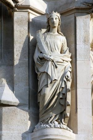 St  Catherine of Alexandria, Saint-Jacques Tower, Paris, France
