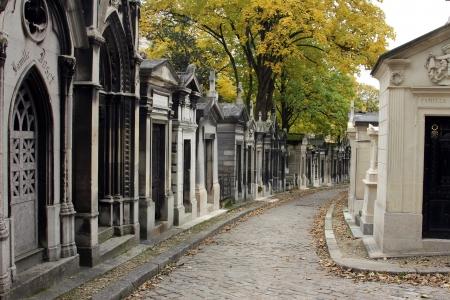 Pere Lachaise Cemetery Paris, France Imagens