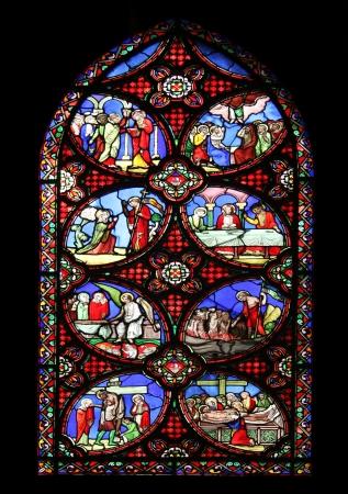 Escenas de la vida de Cristo, Saint Germain l Auxerrois iglesia, Paris