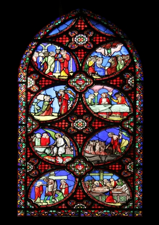 Scenes from the life of the Christ, Saint Germain l Auxerrois church, Paris