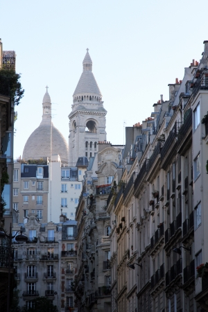 Basilique of Sacre Coeur, Montmartre, Paris, France photo