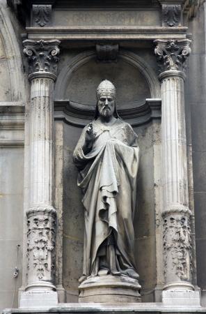 sainthood: Saint Gregory, Church of the Holy Trinity, Paris