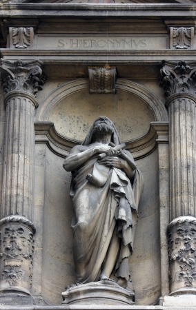 sainthood: Saint Jerome, Church of the Holy Trinity, Paris