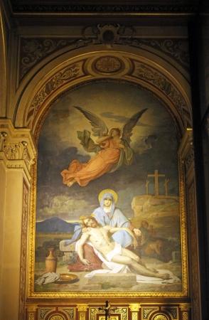 sainthood: Pieta, Church of the Holy Trinity, Paris