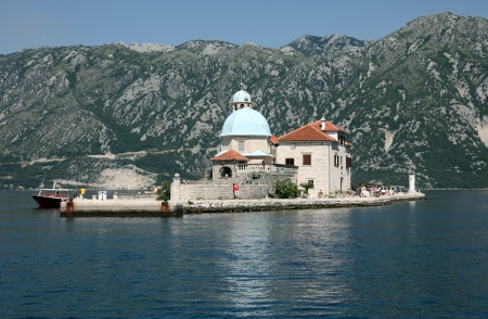Church of Our Lady of the Rocks, Perast, Montenegro photo