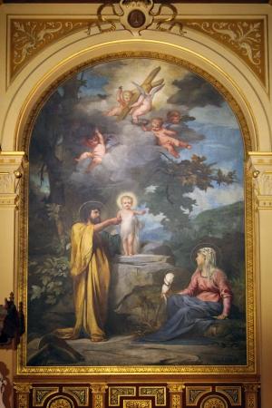 sainthood: Holy Family, Church of the Holy Trinity, Paris