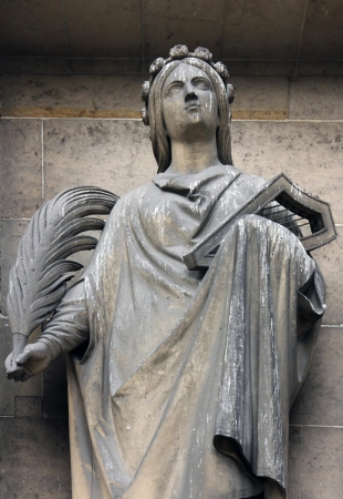 protection of the bible: Saint Cecilia, Madeleine church in Paris