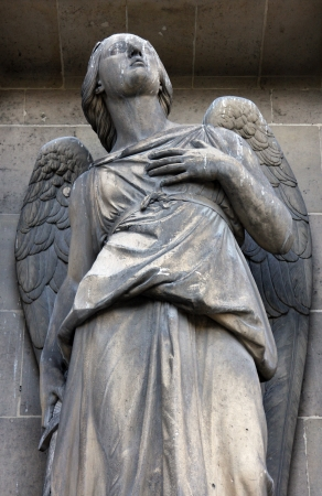 protection of the bible: Archangel Michael, Madeleine church in Paris