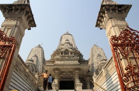 nagara: Birla Mandir  Hindu Temple  in Kolkata, West Bengal in India as seen on Nov 30, 2012  It is one of the largest Hindu temples in Kolkata  Editorial