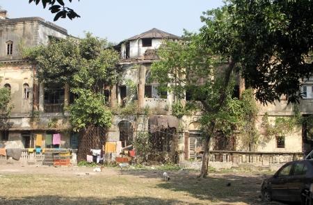 Traditional Courtyard House in Central Kolkata , Kolkata, India on Nov 25, 2012 Stock Photo - 22460291