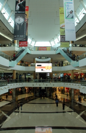 KOLKATA; INDIA - NOV 26  South City Mall is an enclosed urban food court, shopping mall and office building on Nov 26, 2012 in Kolkata, India