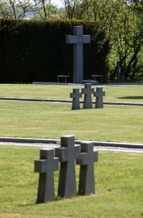 German Military Graves, Mirogoj graveyard in Zagreb - Croatia