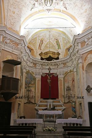 oratory: El Oratorio de los muertos en el casco antiguo de Monterosso al Mare Cinque Terre Liguria Italia
