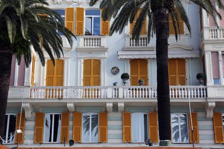 buiding: Liguria, Rapallo, buiding facade
