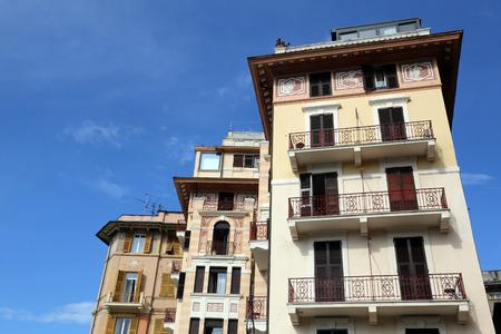buiding: Italy, Liguria, Rapallo, buiding facade
