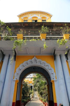 west bengal: Sree Sree Chanua Probhu Temple in Kolkata, West Bengal, India on February 12,2014