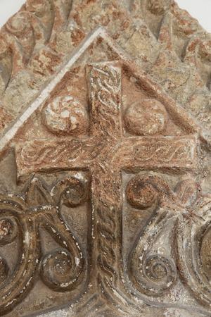 apostolic: Medieval stone cross