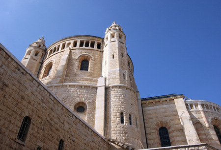Church Of Dormition on Mount Zion, Jerusalem photo