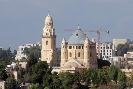 Church Of Dormition on Mount Zion, Jerusalem photo