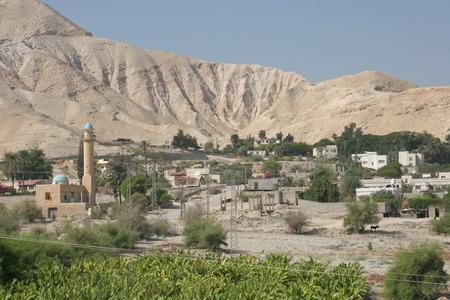 jewish home: City of Jericho, Israel Stock Photo
