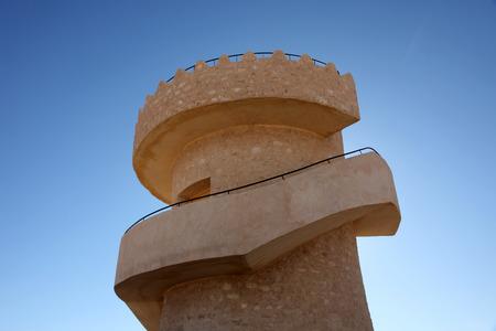 matmata: Modern touristic fort near Matmata, Tunisia