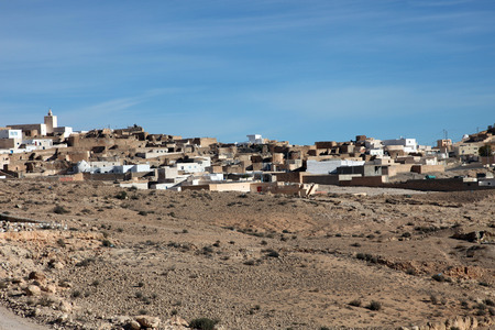 matmata: An Arab village of Matmata in Southern Tunisia in Africa Stock Photo