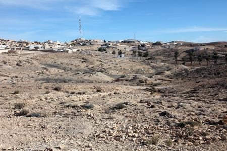 An Arab village of Matmata in Southern Tunisia in Africa photo