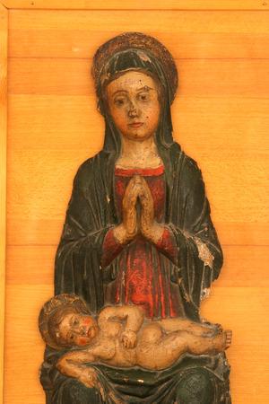 vaderlijk: Lieve Maagd Maria met baby Jesus