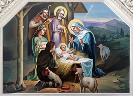 Nativity Scene Stock Photo - 29853318