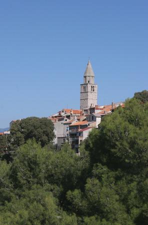krk: City of Vrbnik, Adriatic island Krk Croatia