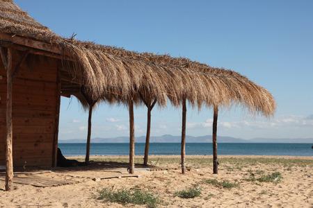 Beautiful scene of a the sea and beach, Tunisia photo