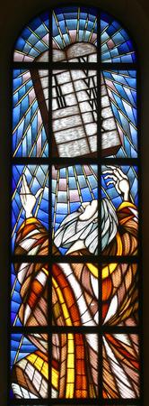 ten commandments: Moses and Ten Commandments