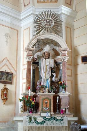 saint martin: Altar of Saint Martin