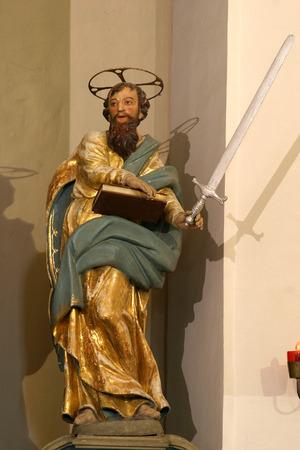 apostle paul: Statue of apostle St Paul