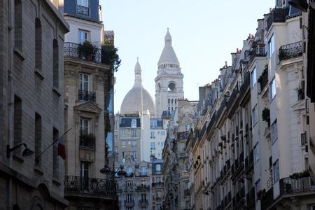 sacre: Basilique of Sacre Coeur, Montmartre, Paris, France