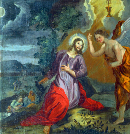 bible altar: Agony in the Garden Editorial