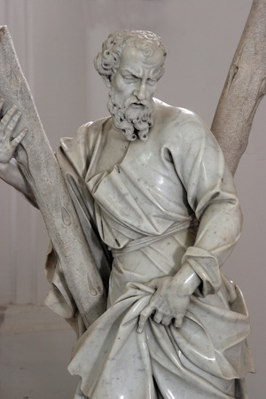 Saint Andrew apostle, Sisak cathedral, Croatia