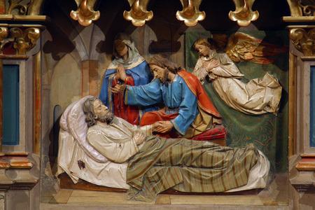 The death of st Joseph