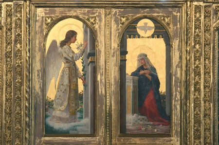 holy mary: The Annunciation