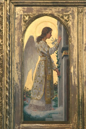 Archangel Gabriel, The Annunciation