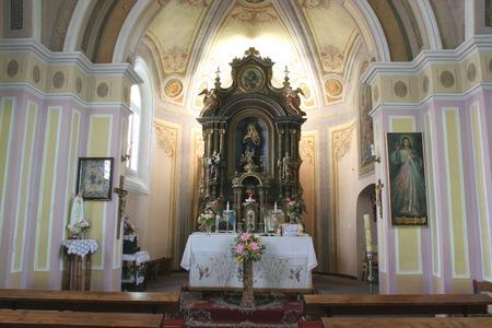 Church altar Editorial