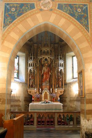 divinity: Church altar Editorial